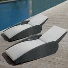 Sevilla Reclining Chaise Lounge Set with Cushion