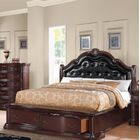 Oralie Queen Upholstered Storage Platform Bed