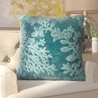 Nordin Throw Pillow Color: Maui