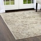 Cream Area Rug Rug Size: Rectangle 3'11