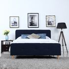 Glasgow Low Profile Upholstered Platform Bed Size: Full
