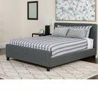 Konen Tufted Upholstered Platform Bed With Mattress Color: Dark Gray, Size: King