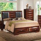 Gascon King Upholstered Storage Platform Bed