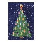 Winchell Tree Hand-Hooked Wool Blue/Green Area Rug