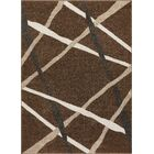 Hans Brown Area Rug Rug Size: Rectangle 7'10