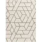 Liang Ivory Area Rug Rug Size: Rectangle 5'3
