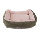 Pet Bed Bolster with Polyester Fill Color: Green