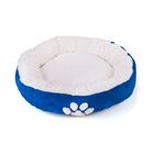 Pet Bed Bolster with Polyester Fill Color: Blue