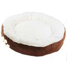 Pet Bed Bolster with Polyester Fill Color: Coffee