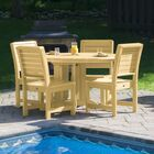Fonso 5 Piece Dining Set Color: Sandstone