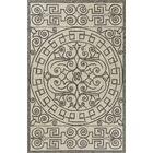 Edinburgh Hand-Woven Ivory/Gray Indoor/Outdoor Area Rug Rug Size: Rectangle 3'3