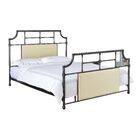 Loring Panel Bed Size: Full, Color: Beige