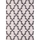 Kempf White/Silver Area Rug Rug Size: Rectangle 7'10