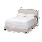 Kettler Upholstered Panel Bed Size: Full, Color: Light Beige