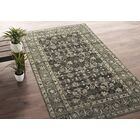 Romeo Hand-Knotted Wool Charcoal Area Rug Rug Size: Rectangle 8' x 10'