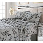 Great Jones 300 Thread Count 100% Cotton Sheet Set Color: Gray, Size: Queen