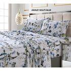 Fegan 300 Thread Count 100% Cotton Sheet Set Color: Blue, Size: Queen