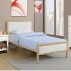 Goodrow Upholstered Platform Bed Color: White, Size: Full