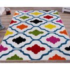 Fritts White Area Rug Rug Size: Rectangle 3'11