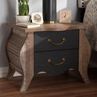 Huntsberry 2 Drawer Nightstand