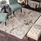 Amice Beige/Gray Area Rug Rug Size: Rectangle 10' x 14'