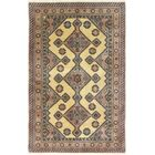 One-of-a-Kind Bardin Hand-Woven Wool Ivory/Pink Area Rug