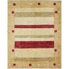 One-of-a-Kind Rejali Hand-Woven Wool Beige Area Rug