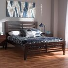 Gillies Full Platform Bed Upholstery Color: Espresso