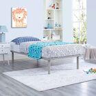 Daenerys Platform Bed Color: Gray, Size: Queen