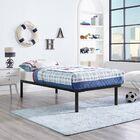 Daenerys Platform Bed Color: Brown, Size: King