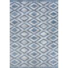 Temple Cloud Blue Indoor/Outdoor Area Rug Rug Size: Rectangle 8'6