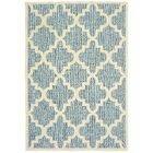 Salguero Lattice Blue/Ivory Indoor/Outdoor Area Rug Rug Size: Rectangle 7'10