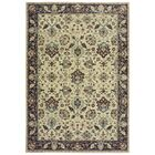 Salgado Vintage Border Ivory Area Rug Rug Size: Rectangle 5'3