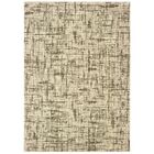 Mitcham Distressed Etchings Ivory Area Rug Rug Size: Rectangle 5'3