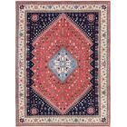 One-of-a-Kind Goodrich Hand-Woven Wool Red/Beige Area Rug