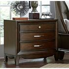 Fearon Wooden 3 Drawer Nightstand