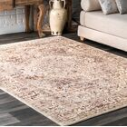 Ferrier Beige/Black Area Rug Rug Size: Rectangle 9' x 12'