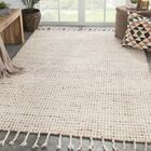 Finnell Hand-Woven Ivory Area Rug Rug Size: Rectangle 2' x 3'