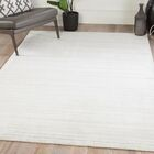 Knott Hand-Woven Ivory/Gray Area Rug Rug Size: Rectangle 5' x 8'