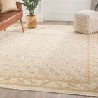 Lainez Trellis Hand-Knotted Wool Brown/Gray Area Rug Rug Size: Rectangle 6' x 9'