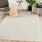 Eastvale Solid Hand-Woven Ivory Area Rug Rug Size: Rectangle 5' x 8'