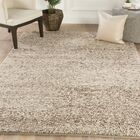 Lillis Solid Hand-Woven Tan Area Rug Rug Size: Rectangle 5' x 8'