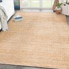 Giselle Solid Hand Woven Tan Area Rug Rug Size: Rectangle 5' x 8'
