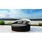 Gillham Patio Daybed with Sunbrella Cushion Fabric Color: Canvas Charcoal