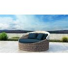 Gillham Patio Daybed with Sunbrella Cushion Fabric Color: Spectrum Indigo