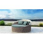 Gillham Patio Daybed with Sunbrella Cushion Fabric Color: Canvas Spa
