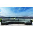 Glendale 3 Piece Sectional Set with Sunbrella Cushion Cushion Color: Canvas Spa