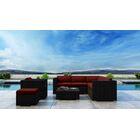 Glendale 8 Piece Sectional Set with Sunbrella Cushion Cushion Color: Canvas Henna