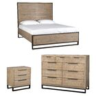 Glenda Panel Configurable Bedroom Set