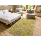 Romarin Hand-Tufted Wool Gold Area Rug Rug Size: Rectangle 5' x 7'9